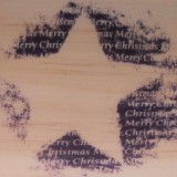 Stamp It 2647E Christmas Star