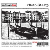 Darkroom Door DDPS004 Venetian Gondolas Photo Stamp*