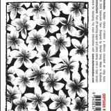 Darkroom Door DDPS005 Frangipani Photo Stamp*