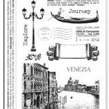 Darkroom Door DDRS001 Venetian Vol 1 Rubber Stamp Set