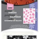Sizzix – 657771 Stamp and Emboss Mixed Flowers
