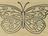 Outlines Rubber Stamp – C617 Butterfly 2
