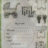 Hero Arts – CL144 Baby Boy.. 1 only