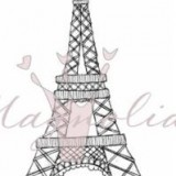 Magnolia Rubber Stamp – Eiffel Tower*