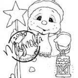 Magnolia Rubber Stamps – Snoowie with Star* out of stock