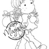 Magnolia Rubber Stamp – Tilda with Bundle*