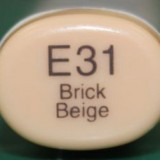 Copic Sketch – E31 Brick Beige