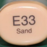 Copic Sketch – E33 Sand