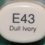 Copic Sketch – E43 Dull Ivory