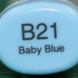 Copic Sketch – B21 Baby Blue