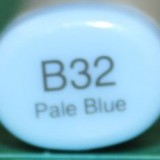 Copic Sketch – B32 Pale Blue