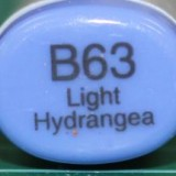 Copic Sketch – B63 Light Hydrangea