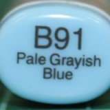 Copic Sketch – B91 Pale Grayish Blue