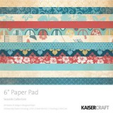 Kaisercraft 6″ Paper Pad – PP834 Seaside*