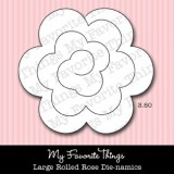 MFT Dienamics – Large Rolled Rose.. out of stock