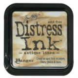 Distress Ink Pad – Antique Linen:-