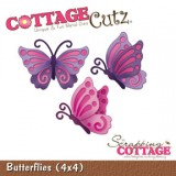 Cottage Cutz – Butterflies 4×4 – out of stock