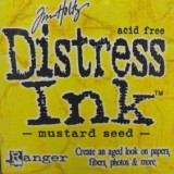 Distress Ink Pad – Mustard Seed:-