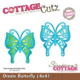 Cottage Cutz – Ornate Butterfly 4×4 – out of stock