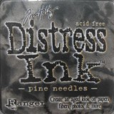 Distress Ink Pad – Pine Needles:-