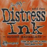 Distress Ink Pad – Spiced Marmalade:-