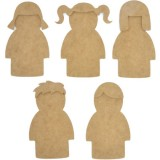 Kaisercraft SB2085 Dress Up Dolls