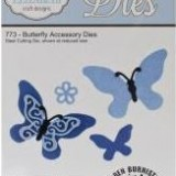 Elizabeth Crafts Die – 773 – Butterfly Accessory..