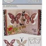 Elizabeth Crafts Die – 767 – Butterfly Pivot Card..