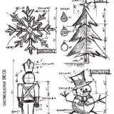 Stampers Anonymous – CMS135 Christmas Blueprint..