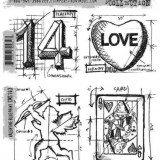 Stampers Anonymous – CMS143 Valentine Blueprint..