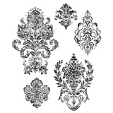 Stampers Anonymous – CMS190 Damask..