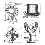 Stampers Anonymous – CMS193 High Society Blueprint..