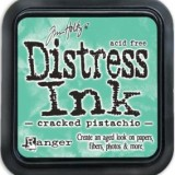 January Distress Ink Pad – Cracked Pistachio:-