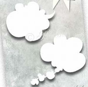 Magnolia DooHickey Die – Round Talk Thought Bubbles