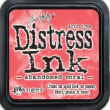 February Distress Ink Pad – Abandoned Coral:-