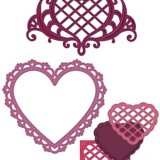 Heartfelt Creations Die HCD728 Timeless Amour**