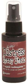 Distress Spray – Aged Mahogany:-
