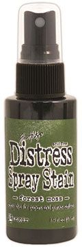 Distress Spray – Forest Moss:-