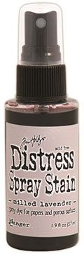 Distress Spray – Milled Lavender:-