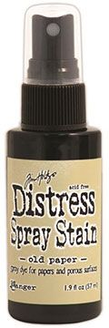 Distress Spray – Old Paper:-