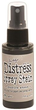 Distress Spray – Pumice Stone:-