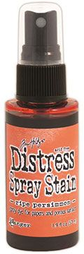 Distress Spray – Ripe Persimmon:-