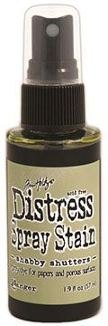 Distress Spray – Shabby Shutters:-