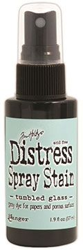 Distress Spray – Tumbled Glass:-