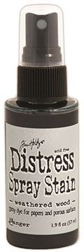 Distress Spray – Weathered Wood:-
