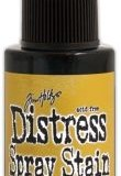 April Distress Spray Stain – Fossilized Amber:-
