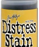 April Distress Stain – Fossilized Amber