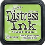 May Distress Ink Pad – Twisted Citron