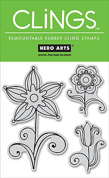 Hero Arts – CG128 Three Flowers..