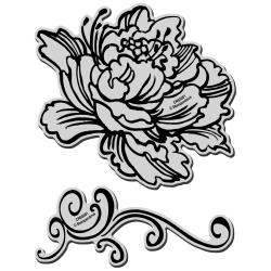 Stampendous – CRS5001- Jumbo Peony – out of stock